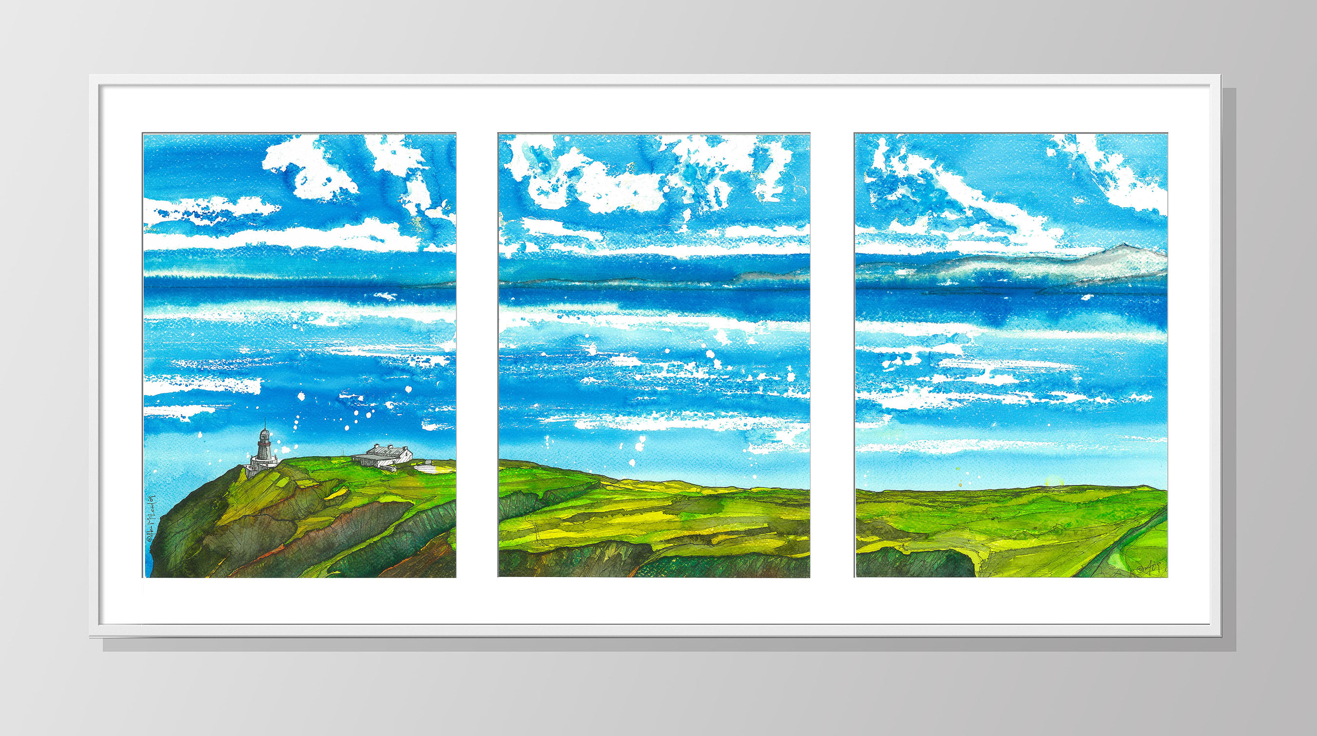 Bailey LightHouse Triptych
