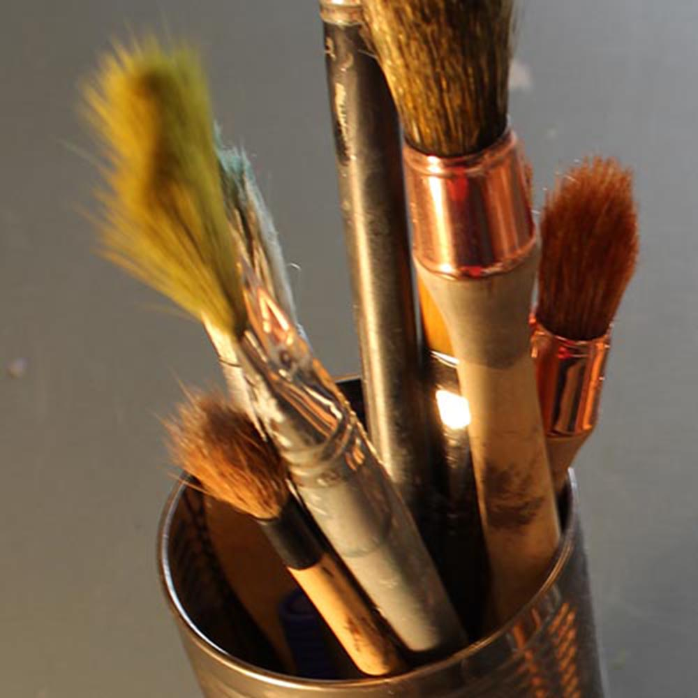 Art brushes by Alan McLeod